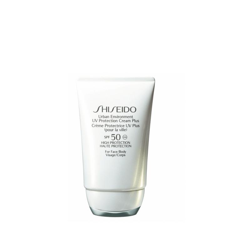 shiseido urban environment uv protection plus spf50 crema