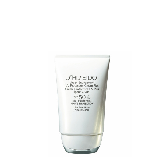 shiseido urban environment uv protection plus spf50 crema