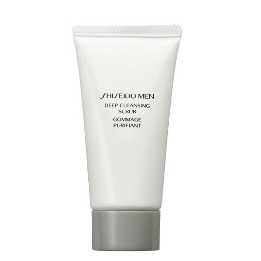 shiseido men deep cleansing exfoliante 125ml