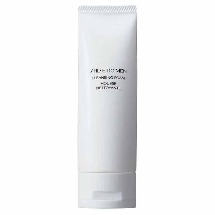 shiseido men cleansing foam espuma limpiadora 125ml