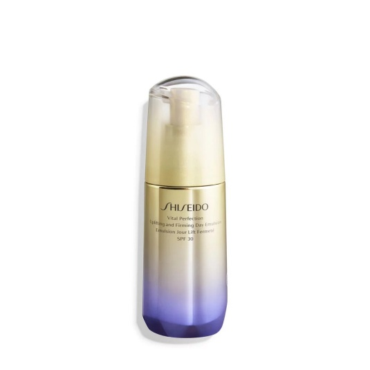shiseido vital perfection uplifting and firming tratamiento facial reafirmante emulsión de día spf30 75ml