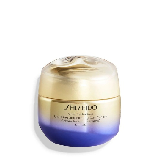shiseido vital perfection uplifting and firming tratamiento facial reafirmante crema día spf30 50ml