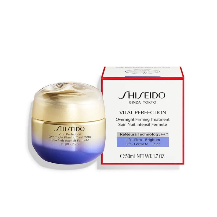 shiseido vital perfection uplifting and firming tratamiento facial reafirmante crema noche 50ml