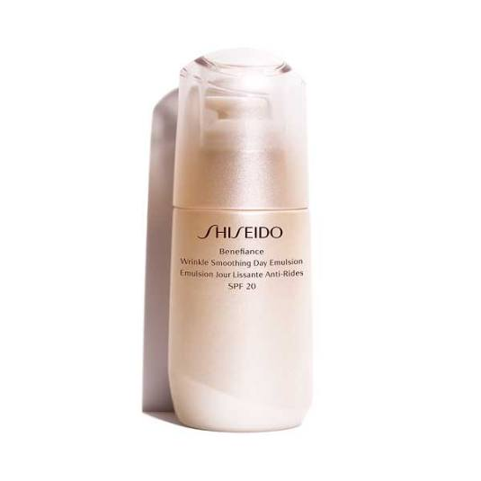 shiseido benefiance wrinkle smoothing day emulsión spf20 75ml