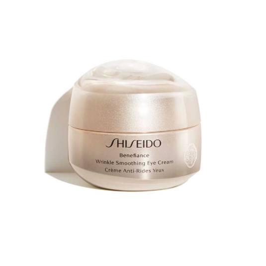 shiseido benefiance wrinkle smoothing crema antiedad contorno de ojos 15ml