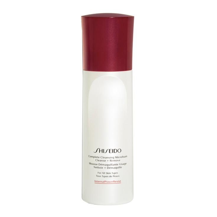 shiseido complete cleansing microfoam espuma limpiadora 180ml