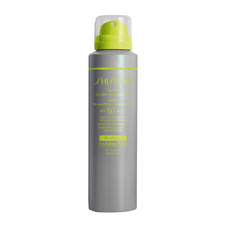 shiseido sports invisible protective mist spf50+ 150ml fotoprotector corporal