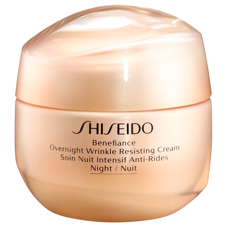 shiseido benefiance overnight wrinkle resisting cream crema de noche antiedad 50ml