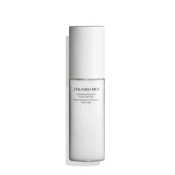 shiseido men energizing moisturizer extra light fluid emulsion hidratante y energizante 30ml