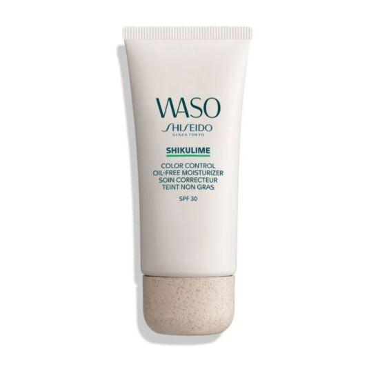 waso shikulime color control oil-free moisturizer spf30 50ml