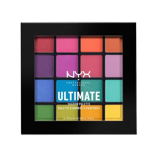 nyx ultimate paleta de sombra de ojos