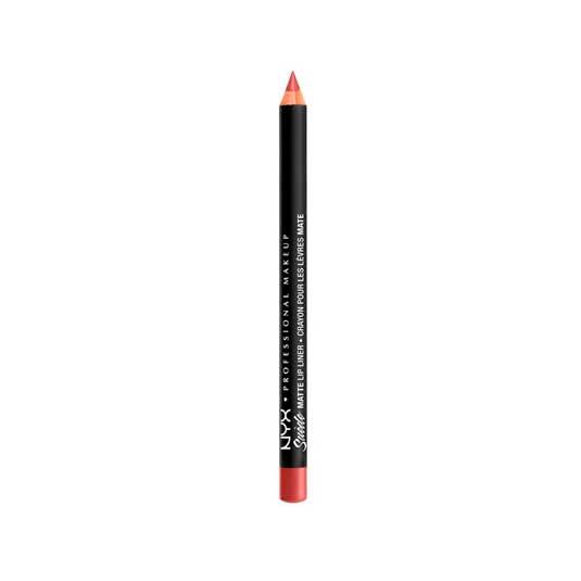 nyx suede matte lip liner lapiz de labios