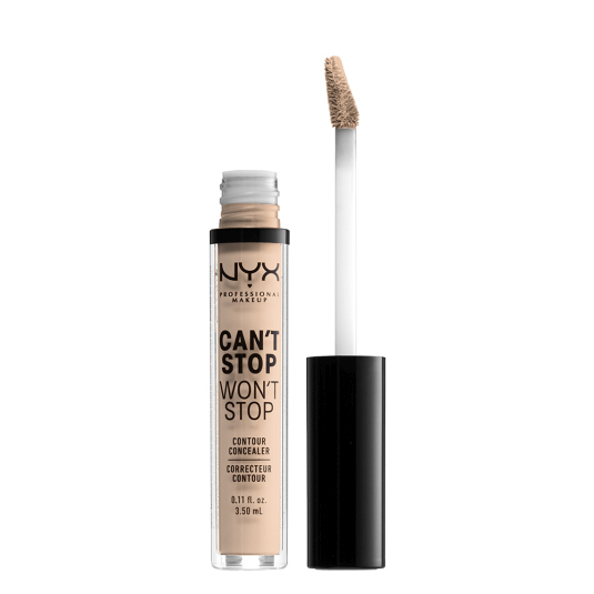 nyx can't stop won't stop contour concealer maquillaje corrector