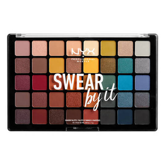 nyx swear by it shadow palette paleta de sombras de ojos