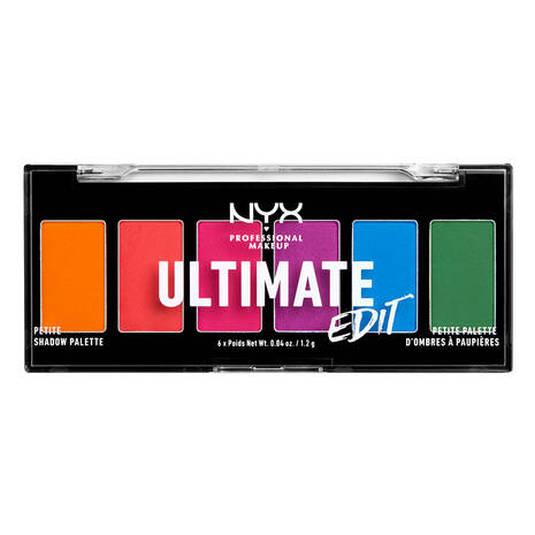 nyx ultimate edit petite shadow palette paletas sombra ojos 6 tonos