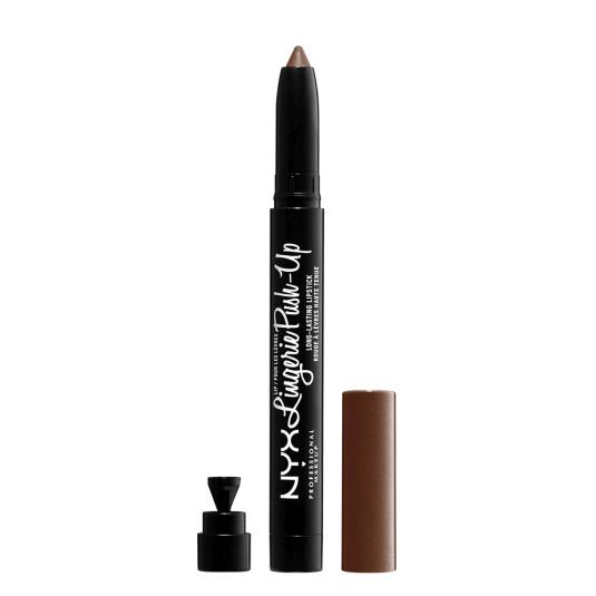 nyx lip lingerie push-up long-lasting barra de labios stick