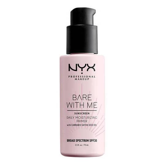 nyx bare with me cannabis spf30 prebase de maquillaje hidratante