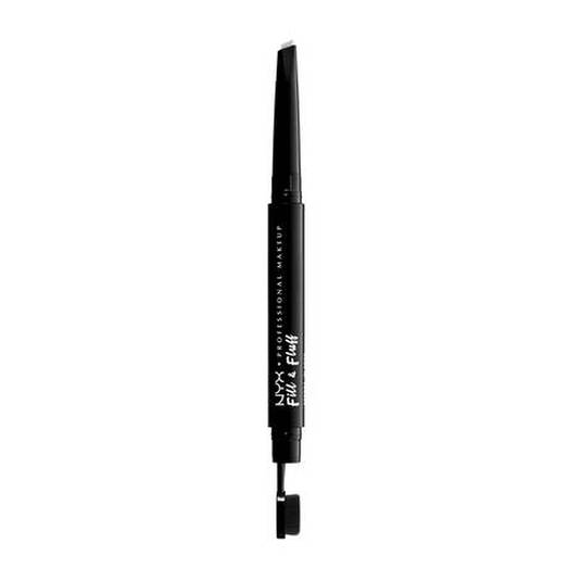 nyx fill & fluff eyebrow pomade pencil pomada para cejas en gel