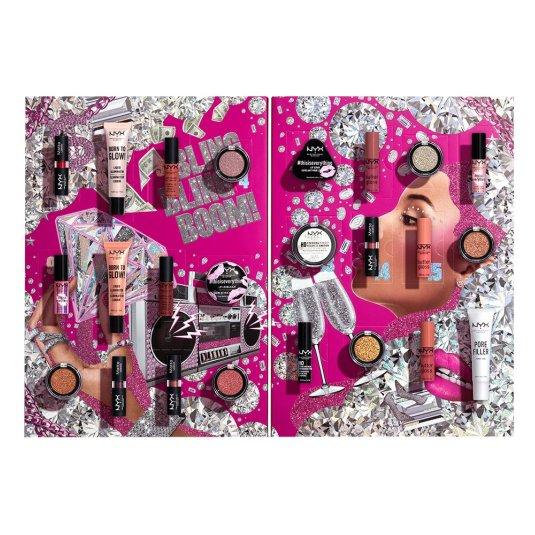 nyx makeup calendario de adviento 24 dias diamonds & ice please!