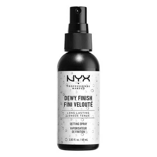 nyx makeup setting dewy dijador maquillaje spray
