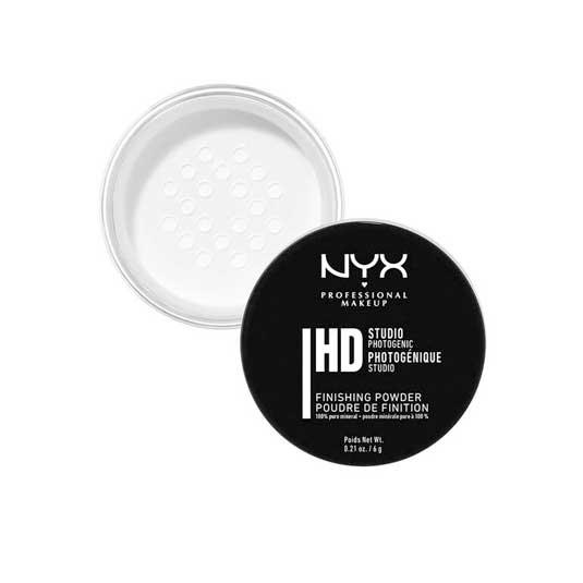 nyx studio finishing powder polvos minerales fijadores