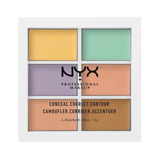 nyx color correcting palette paleta de correctores