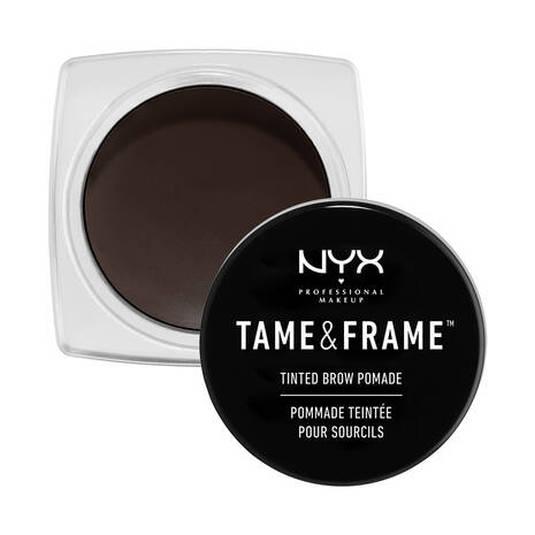 nyx tame & frame brow pomade gel de cejas tarro