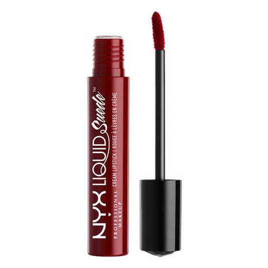 nyx liquid suede cream lipstick labial liquido