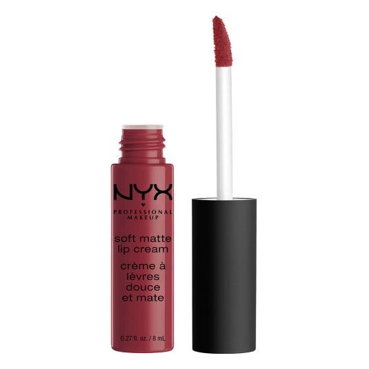 nyx soft matte lip cream labial liquido cremoso