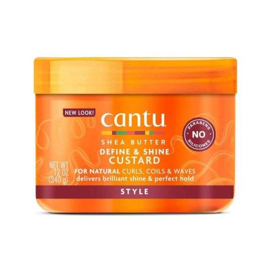 cantu shea butter define & shine custard 340g
