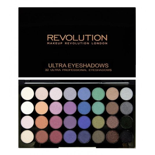 REVOLUTION EYESHADOW PALETTE MERMAIDS FOREVER