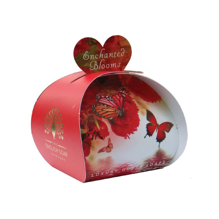 THE ENGLISH SOAP JABÓN ENCHANTED BLOOMS 3X20G PACKAGING REGALO