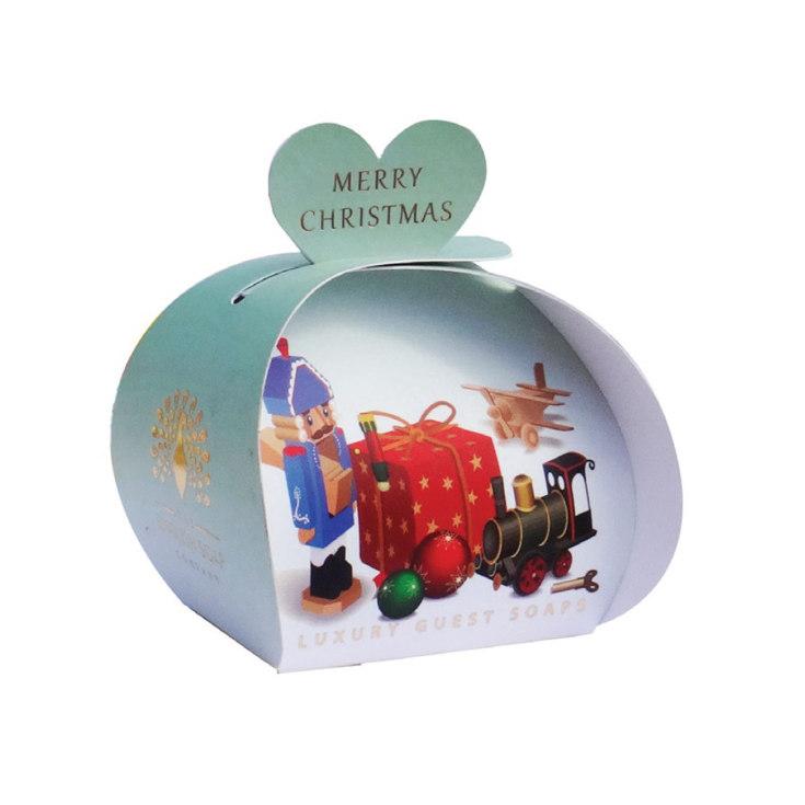 the english soap jabón edición navidad vintage toys  3x20g packaging regalo