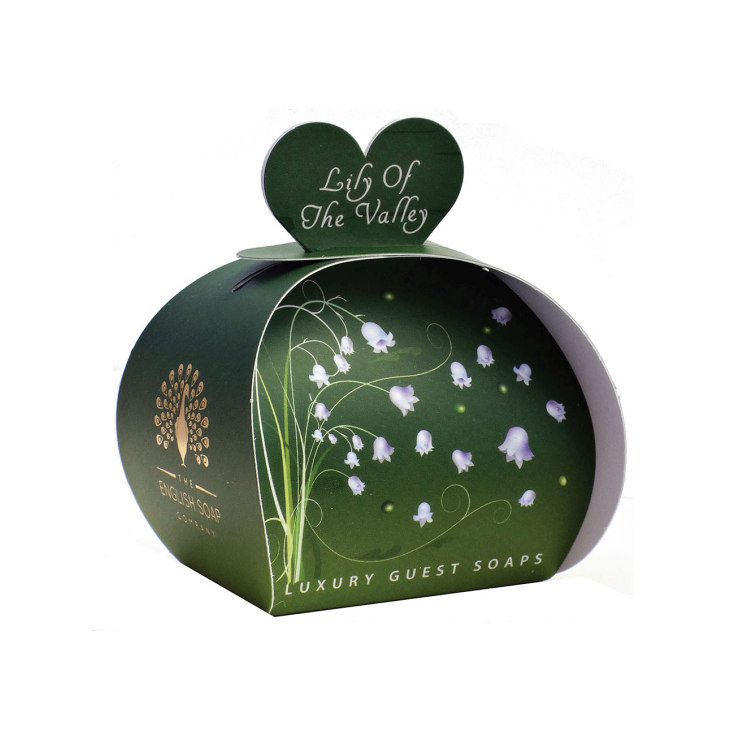 the english soap jabon lily of the valley packaging regalo