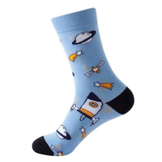 calcetines divertidos espacio estampados espacio