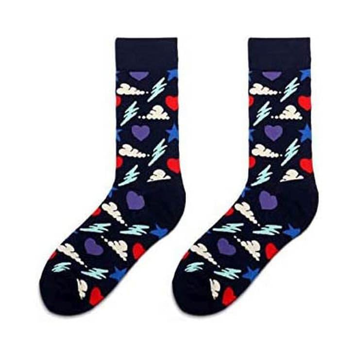calcetines divertidos corazones divertidos