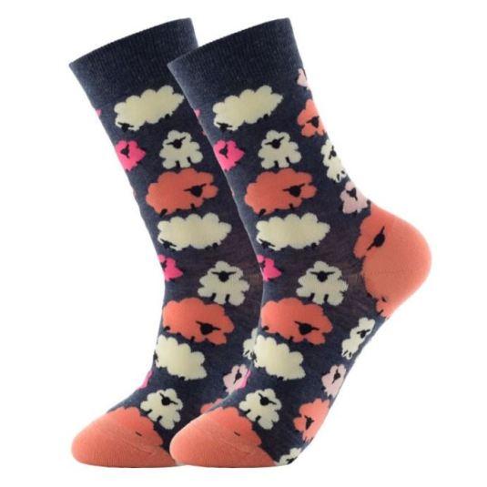 calcetines divertidos estampados ovejas