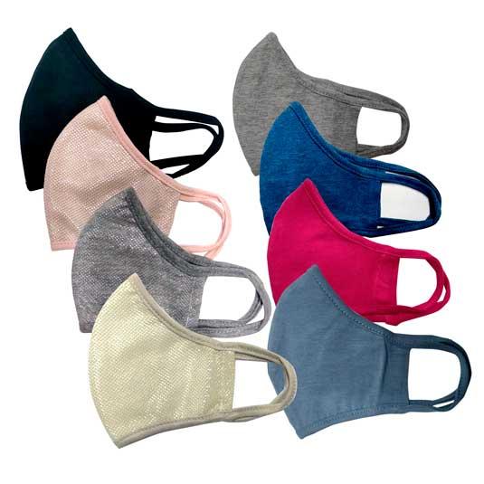 mascarillas proteccion reutilizables de tela con apertura para filtro (sin filtro)