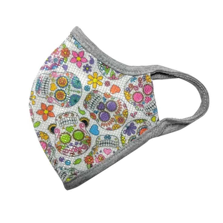 mascarilla infantil de proteccion reutilizable con apertura para filtro (sin filtro)