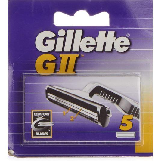 gillette gll cuchillas maquinilla de afeitar hombre 5 recambios