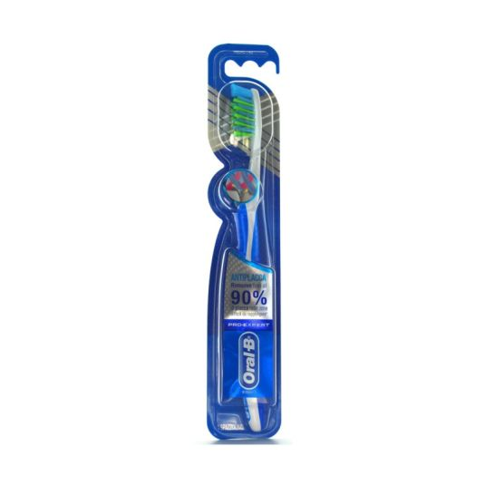 oral-b pro-expert crossaction cepillo dental anti-placa adulto dureza media 1ud