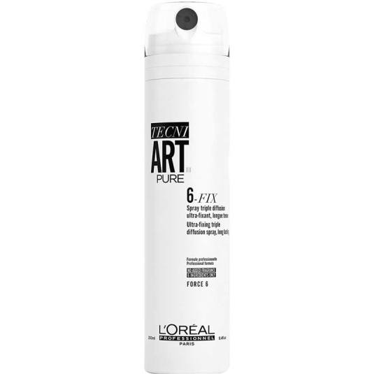 loreal professionnel tecni art pure 6 fix fijador spray 250ml