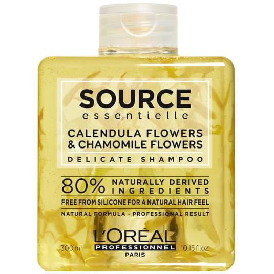 l'oréal professionnel source essentielle calendula flowers & chamomile flowers champú suave para cabello 300ml