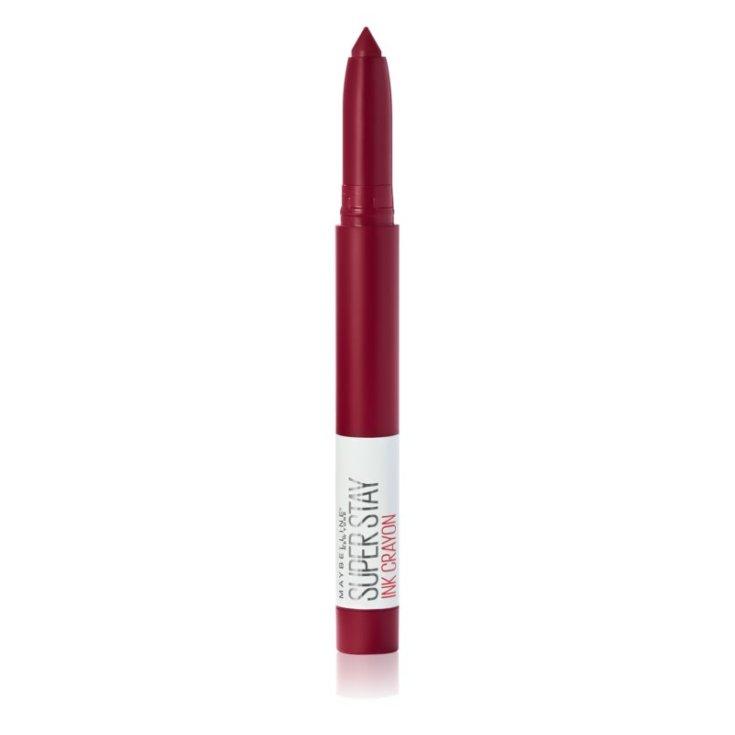 maybelline superstay ink crayon bara de labios cremosa mate