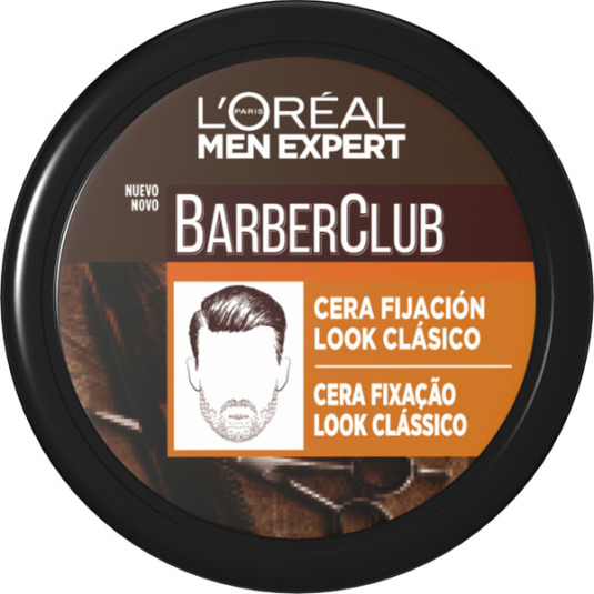 loreal men expert barber club cera de fijacion look clasico 75ml
