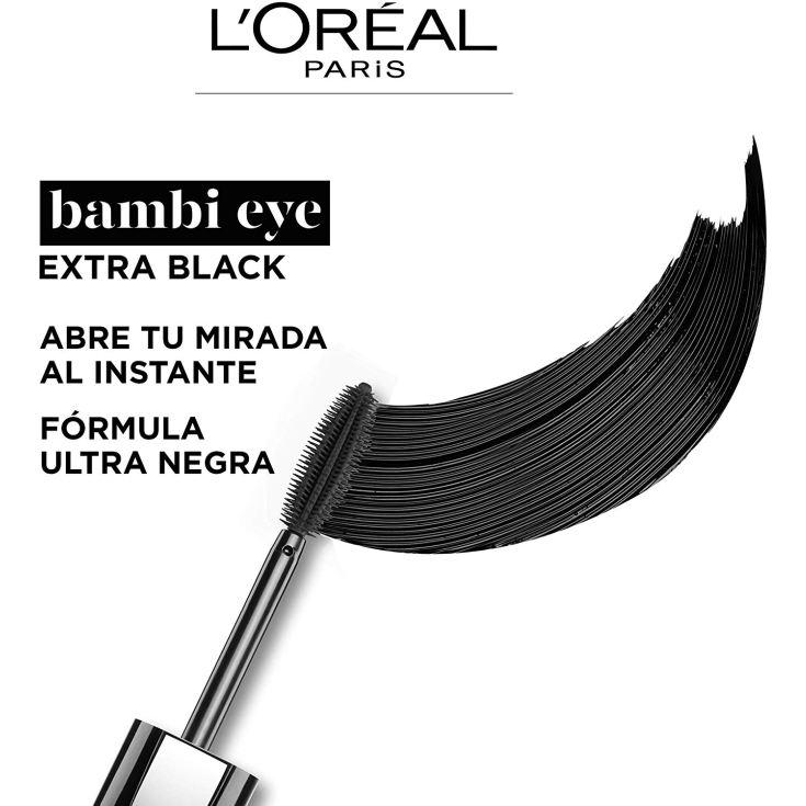 loreal bambi eye extra black mascara de pestañas