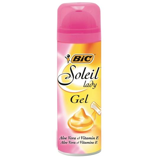 bic soleil lady pink gel para depilacion mujer 150ml