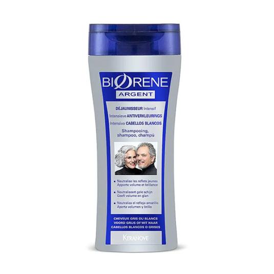 biorene argent champu cabellos blancos o grises 200ml