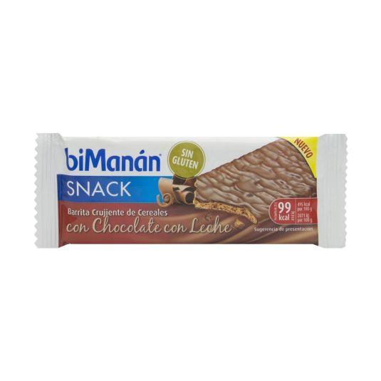 bimanan barrita crujiente chocolate con leche 1unidad