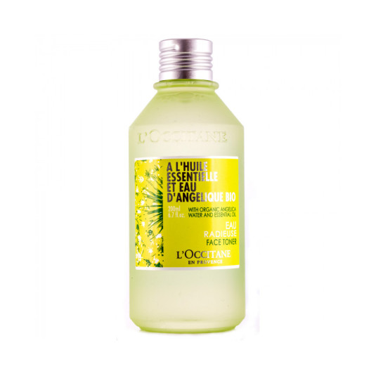 l'occitane angelica agua radiante tonico 200ml